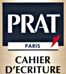prat brand notebook logo