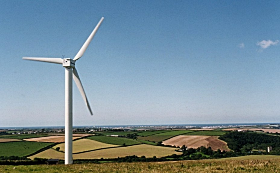 We thought 400 kW turbines were huge in those days ...