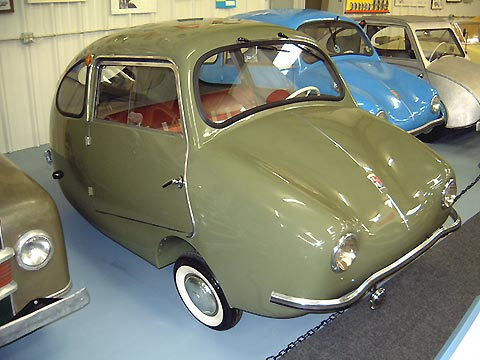 1956 Fuldamobil S-6, from the Bruce Weiner Microcar Museum