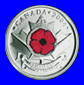 Canadian Poppy Quarter 2004