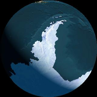 quickbird 2 image from the antarctic
