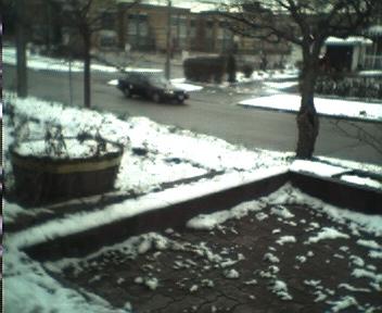 it\'s snowing
