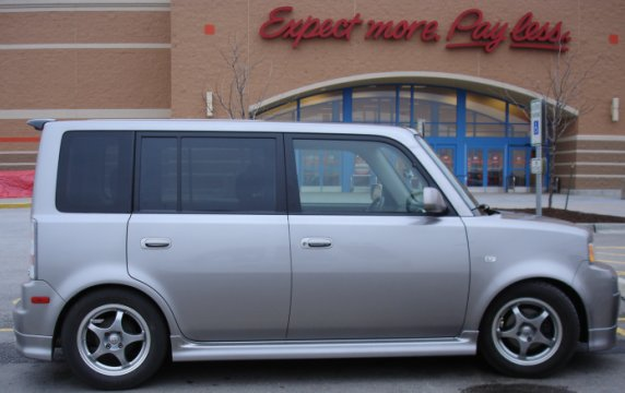 ugly-ass Scion xB car