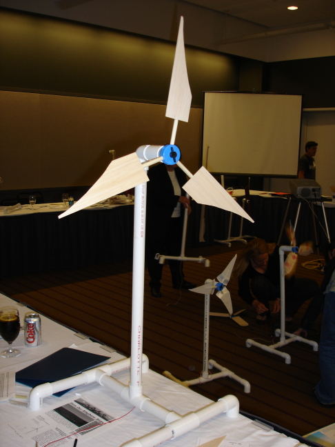 stewart's kidwind turbine