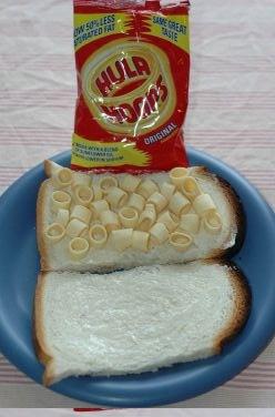 hula hoop sandwich makin's