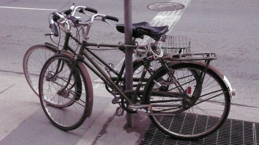 Two Raleigh Superbes, on Yonge St