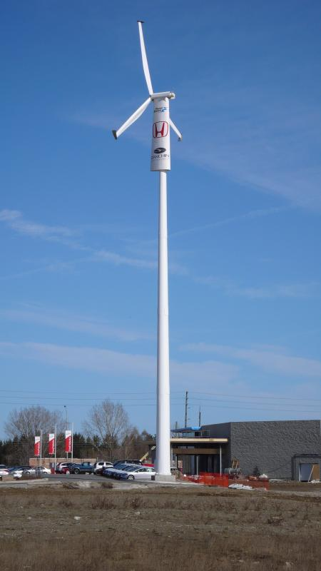 wind turbine in vaughan
