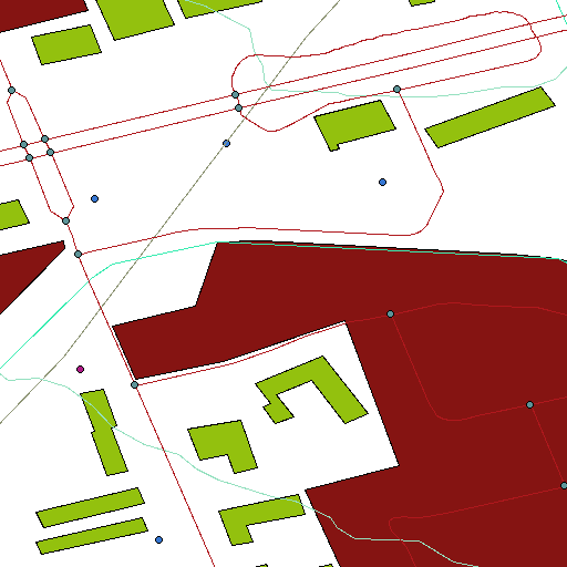 my neighbourhood, according to CanVec and QGIS