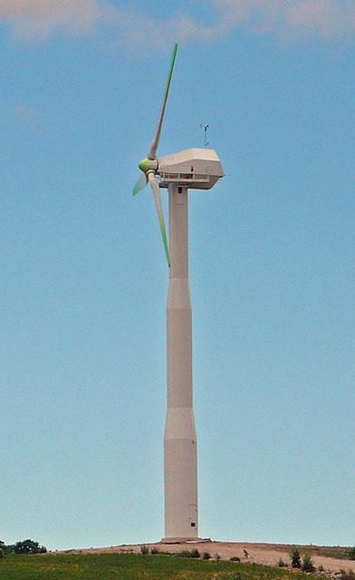 mystery wind turbine