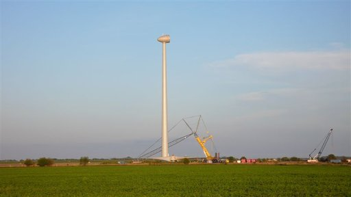 Ripley Wind Farm - under construction