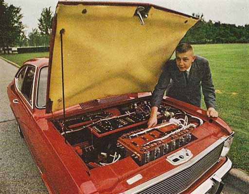 Hybrid Opel car from 1969 - National Geographic