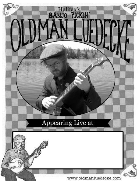 old man luedecke poster