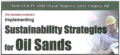 sustainable oil sands