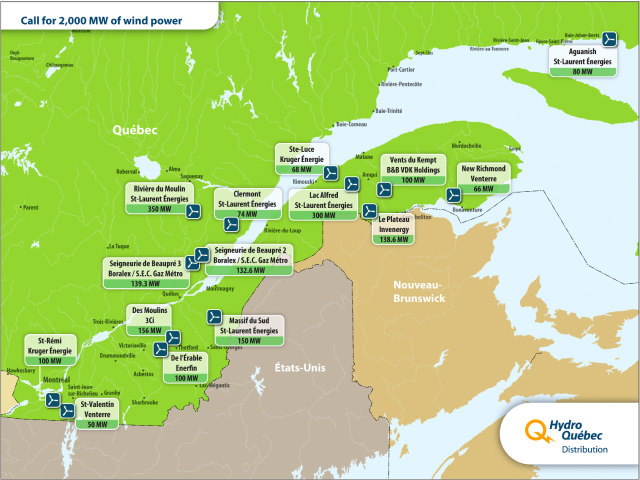 quebec wind projects
