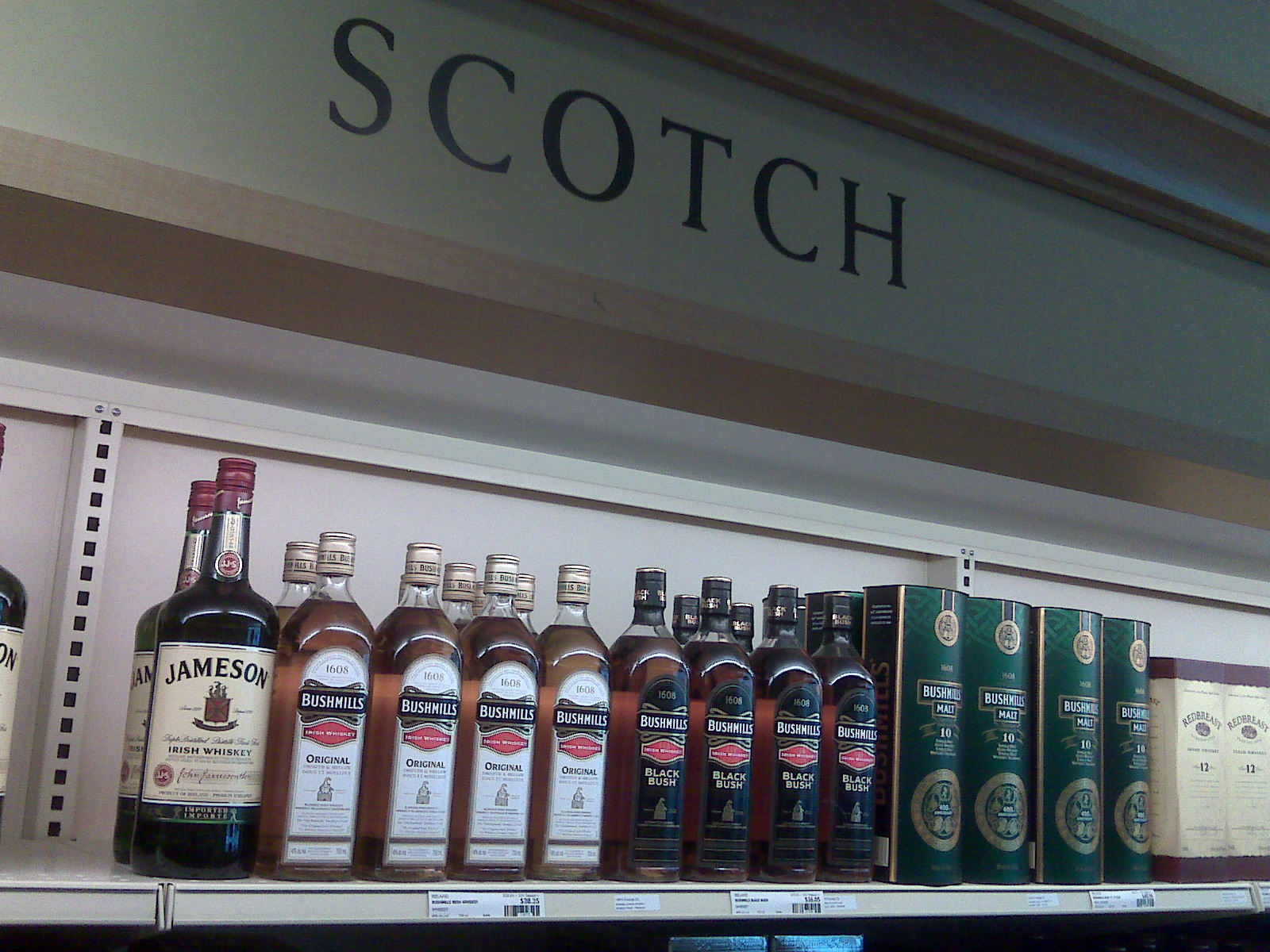 irish in the scotch aisle