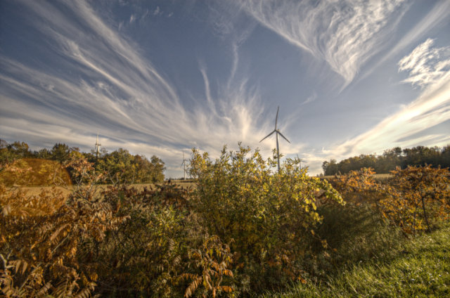 Cultus Wind Farm, Fall HDR