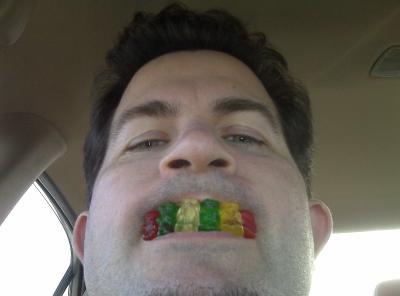 gummy bear grill
