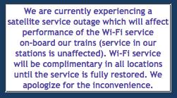 via outage