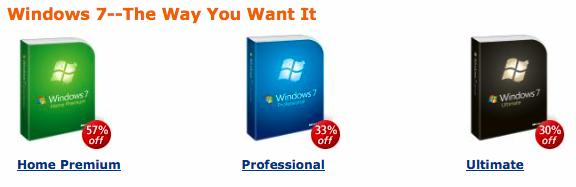 i don't want windows 7 in any way, shape or form