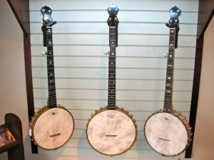 Bill Rickard banjos