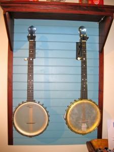 Bill Rickard spun-over Dobson banjos