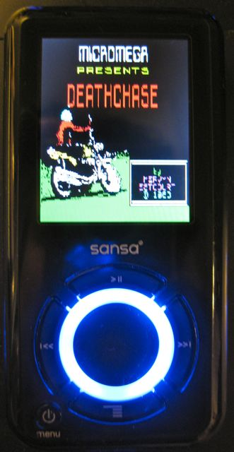deathchase on rockbox on sansa