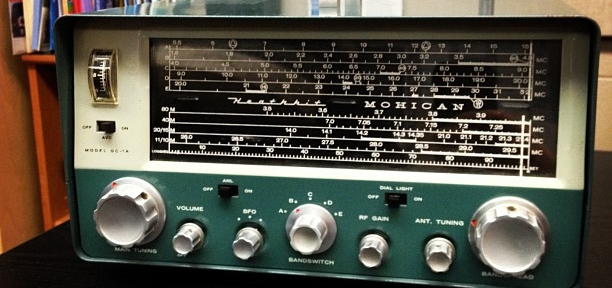 Vintage Heathkit Mohican receiver