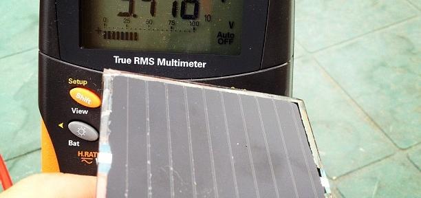 Fun with CIS solar cells.