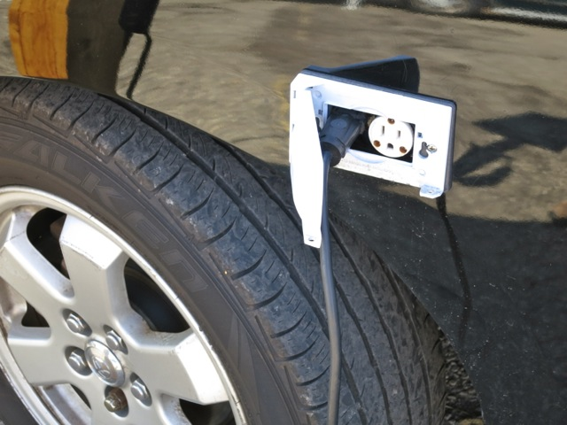 WB4APR's charge socket