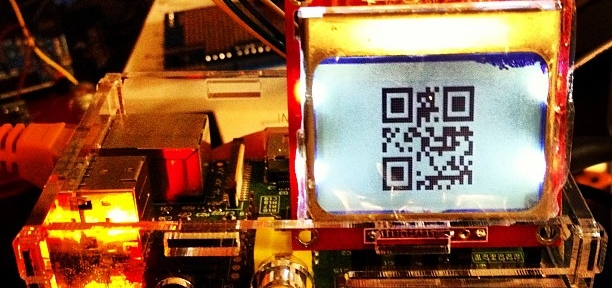 Now this has given me an idea … #raspberrypi #qrcode