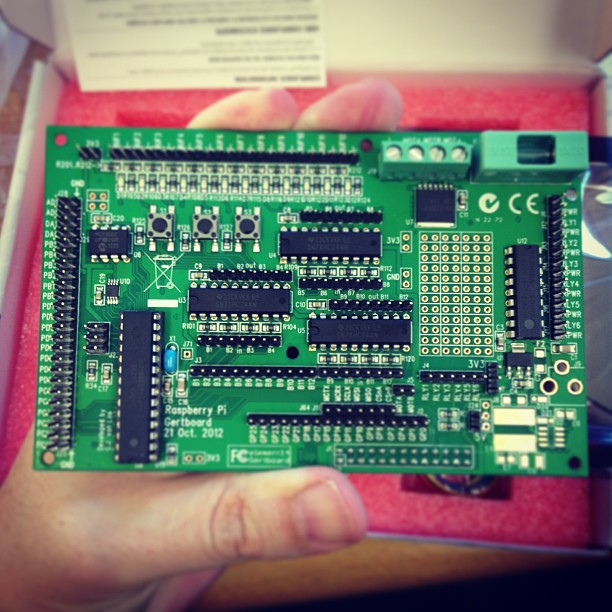 can has gertboard? #raspberrypi