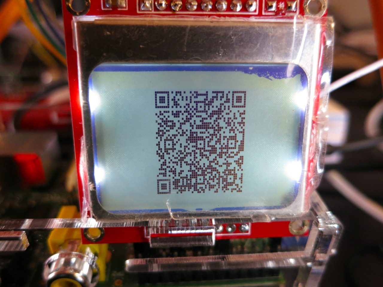 Lcd We Saw A Chicken Wiringpi Serial Nokia Screen On Raspberry Pi