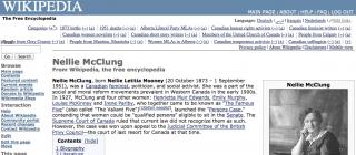 Neillie McClung: Wikipedia