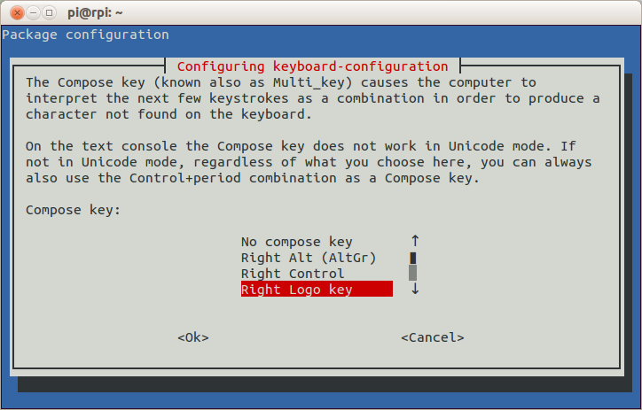 raspi-config: Compose key selection