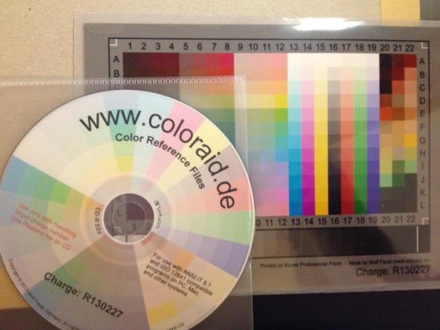 colour target