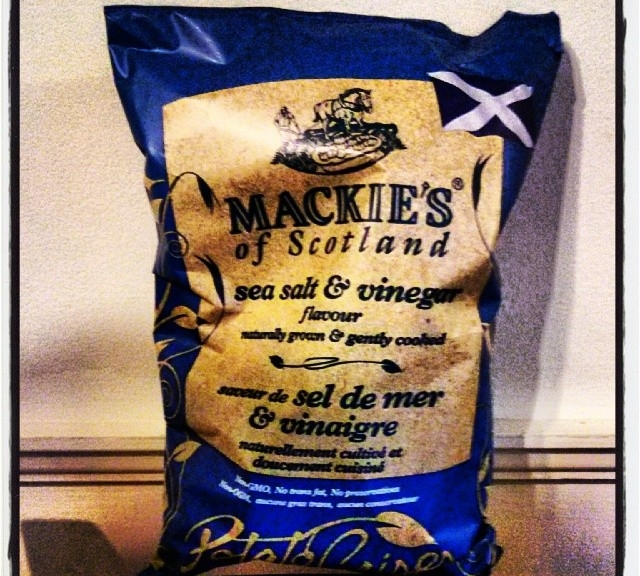 Ya. Dancer: Mackie's Salt & Vinegar Crisps #crunch #crunch #crunch