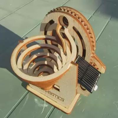 Solar Marble Machine