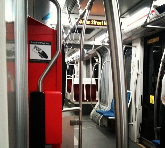 That new tram smell ...