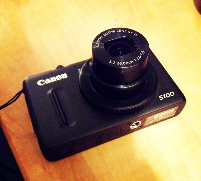 So, guess who just found out about the Canon S100 lens error recall?