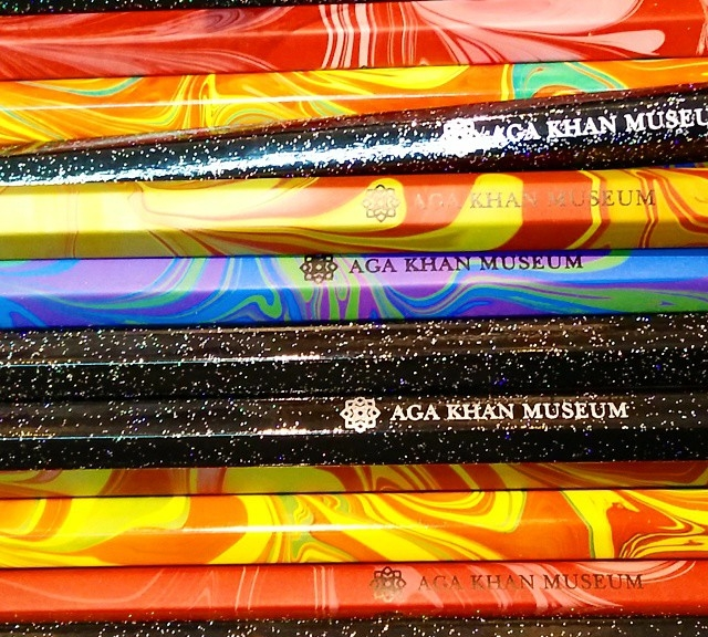 Official pencils of the Aga Khan Museum