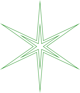 A gratuitously pointy star that needed a custom mitre limit