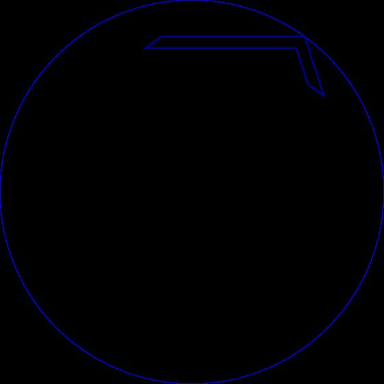 Segment for interleaved pentagons(SVG is linked under this image)