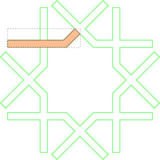 Stroke to path, and partially filled (SVG source linked from image)
