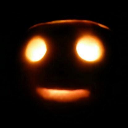 Neep lantern for Halloween