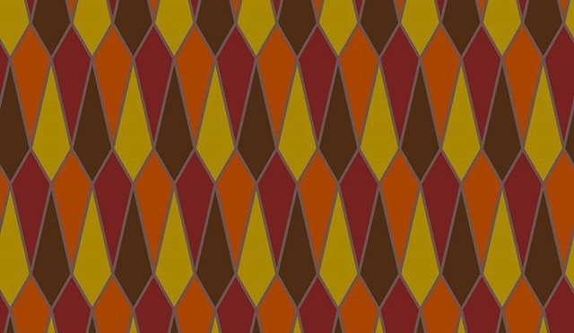 Accidental autumnal pattern