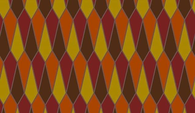 Accidental autumnal pattern