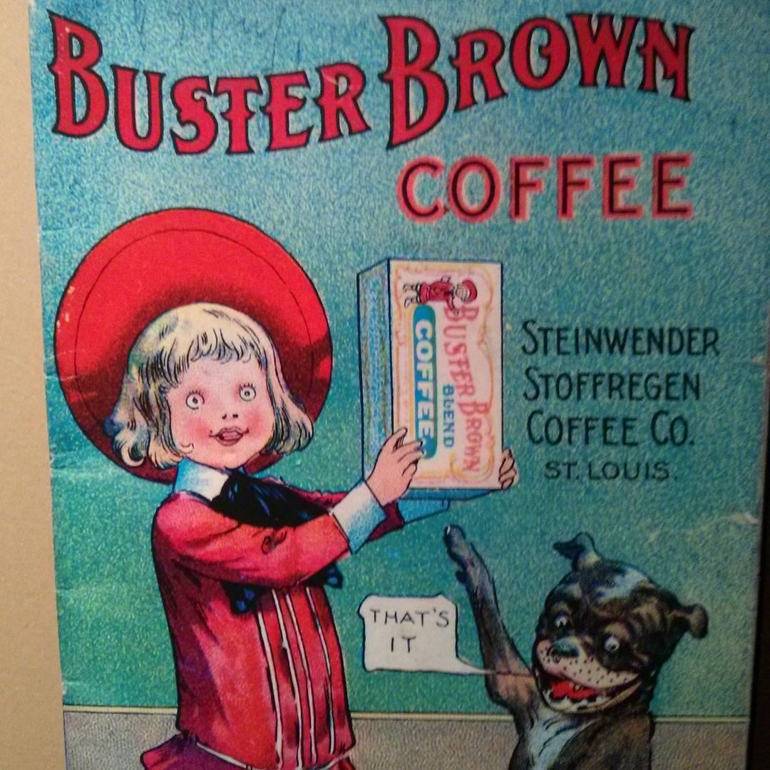 Buster's had a bit much coffee