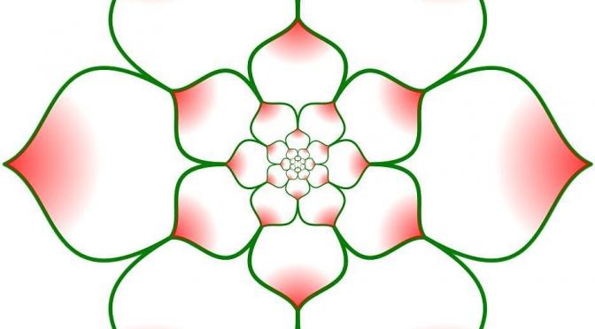 Self-similar petals