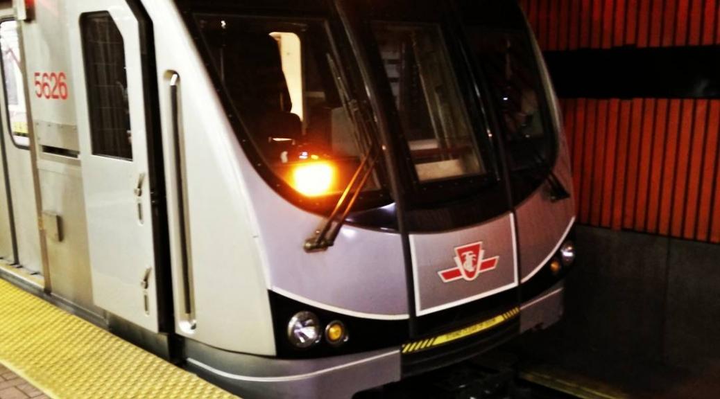 We finally got the nice trains on line 2 #ttc