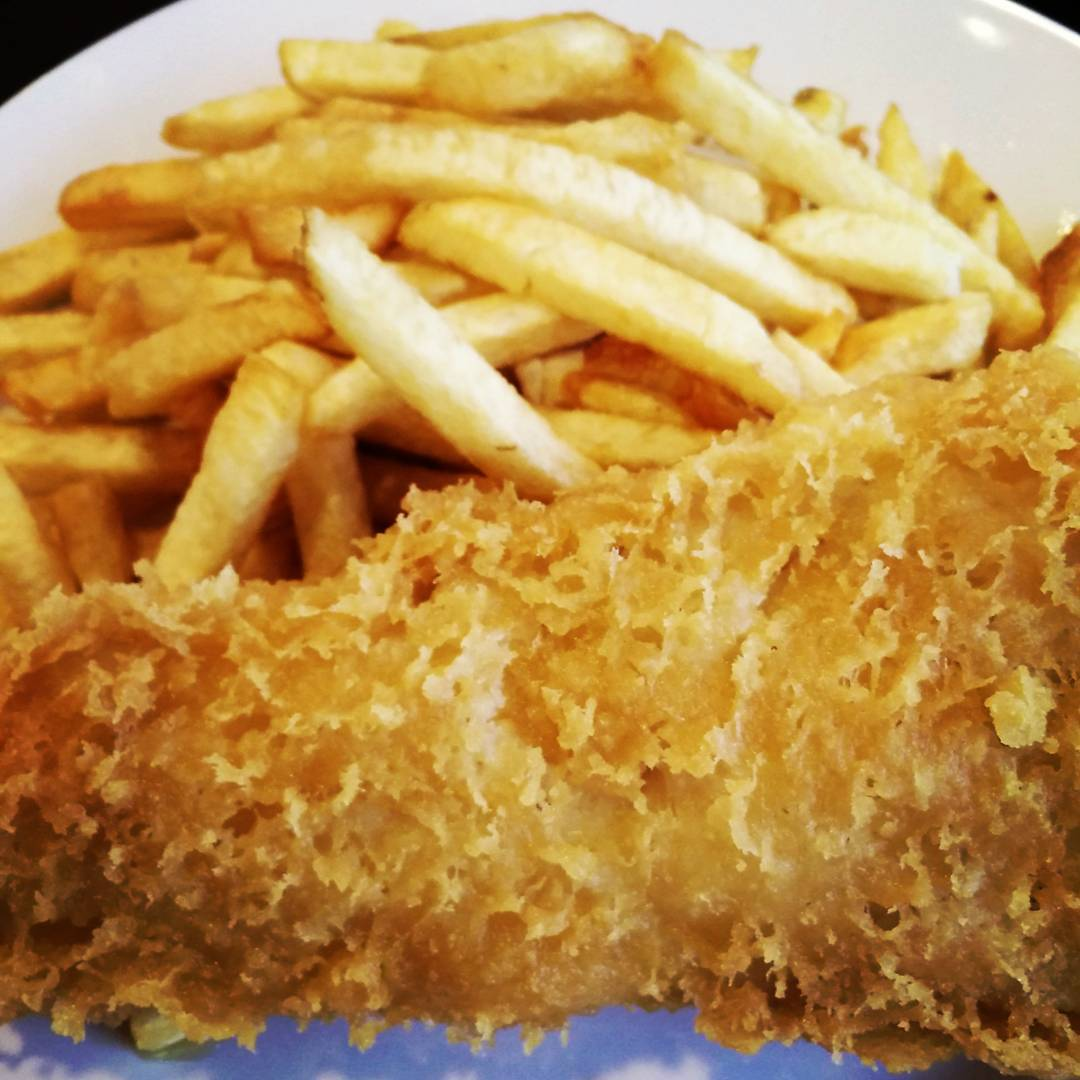 Haddock & Chips, of course